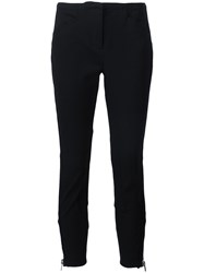 3.1 Phillip Lim Cropped Skinny Trousers Black