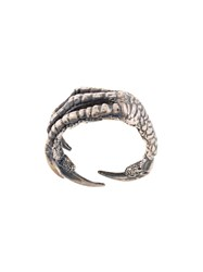 Ann Demeulemeester Claw Ring Silver
