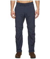 Jack Wolfskin Canyon Zip Off Pants Short Night Blue Men's Casual Pants Navy