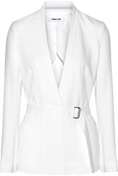 Helmut Lang Torsion Stretch Jersey Blazer White