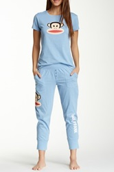 Paul Frank Back To Basics Pajama Set Blue