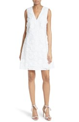 Ted Baker Women's London Soniah 3D Lace A Line Dress White