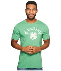 Hurley Celtic Roots St. Patricks Day Tee Gym Green Heather T Shirt