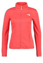 The North Face Tanken Fleece Cayenne Red Light Red