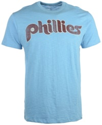 '47 Brand Men's Short Sleeve Philadelphia Phillies Scrum Coop Logo T Shirt