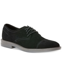 Calvin Klein Upton Suede Oxfords Men's Shoes Black