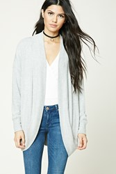 Forever 21 Heathered Dolman Cardigan