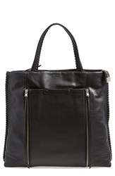 Allsaints 'Fleur De Lis North South' Tote Black