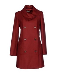 Alysi Coats Red