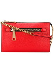 Marc Jacobs 'Gotham' Small Crossbody Bag Women Calf Leather One Size Red