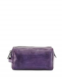 Berluti Matinee Leather Toiletry Case Purple