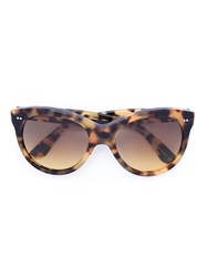 Oliver Goldsmith 'Manhattan' Sunglasses Black