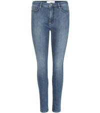 Victoria Beckham Power High Skinny Jeans Blue