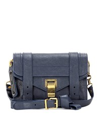 Proenza Schouler Ps1 Mini Leather Crossbody Bag Blue