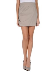 Emporio Armani Mini Skirts Grey