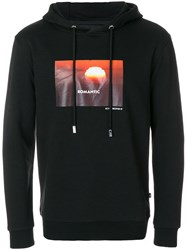 Blood Brother Liberty Exclusive Romantic Hoodie Cotton Polyester Black