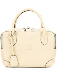 Golden Goose Deluxe Brand Zip Around Tote Neutrals
