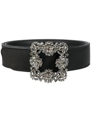 Manolo Blahnik Hangisi Belt Black
