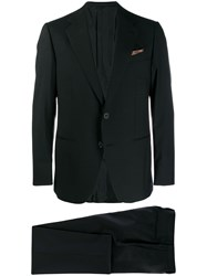Caruso Norma Two Piece Suit Black