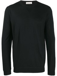 Laneus Fine Knit Sweater Black