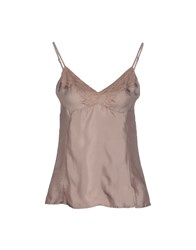Gotha Topwear Tops Women Dove Grey