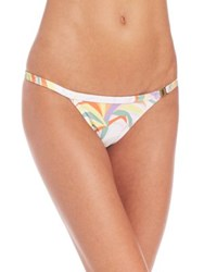 Agent Provocateur Tayler Bikini Bottom Tropical Print