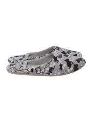 Radley Cherry Blossom Ballerina Slipper Grey