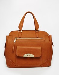 Marc B Handheld Bag In Tan American Tan