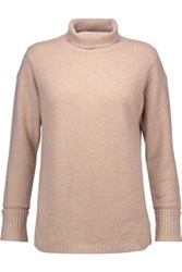 Magaschoni Textured Cashmere Sweater Beige