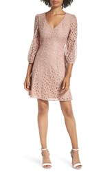 Heartloom Piper Lace Fit And Flare Dress Mauve