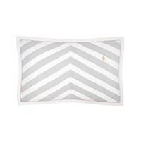Tommy Hilfiger Navy Striped Satin Pillowcase 50X80cm