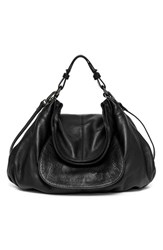 Hayden Harnett 'Havana 2.0' Leather Hobo Black