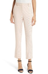 Rebecca Taylor Women's Pin Dot Straight Leg Crop Pants