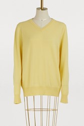 The Row Maley Pullover Daffodil