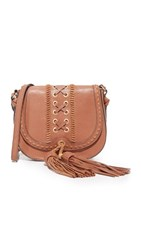 Foley Corinna Sarabi Saddle Bag Honey Brown