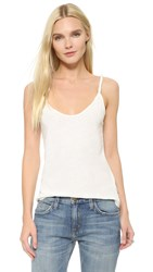 Current Elliott The Twisted Strap Tank Dirty White