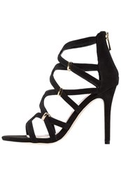 Faith Dakota Sandals Black