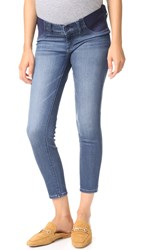 Dl1961 Florence Instasculpt Crop Maternity Jeans Orwell