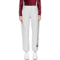 Champion Reverse Weave Grey Embroidered Lounge Pants