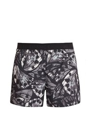 Peak Performance Lightweight Work It Print Shorts Black Multi