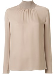Theory High Neck Blouse 60