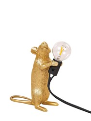 Seletti Step Mouse Lamp Gold