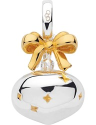 Links Of London Sterling Silver And 18Ct Gold Vermeil Bauble Charm