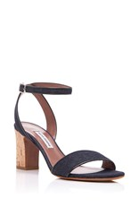 Tabitha Simmons Leticia Denim Sandal Blue