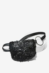 Nasty Gal X Nila Anthony Bring It On Textured Fanny Pack