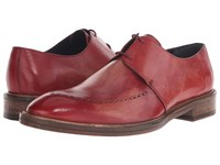 Messico Edgar Vintage Cherry Leather Men's Shoes Red
