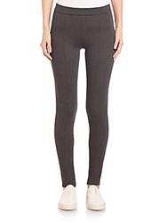 Vince Seamed Leggings Charcoal