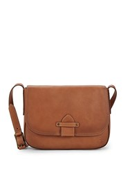 Frye Olivia Leather Crossbody Bag Dusty Rose
