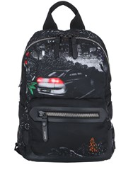 Lanvin Printed Nylon Backpack