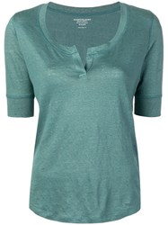 Majestic Filatures Tunic Top Green